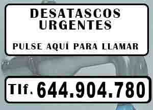 Desatascos Castellon de la Plana Urgentes